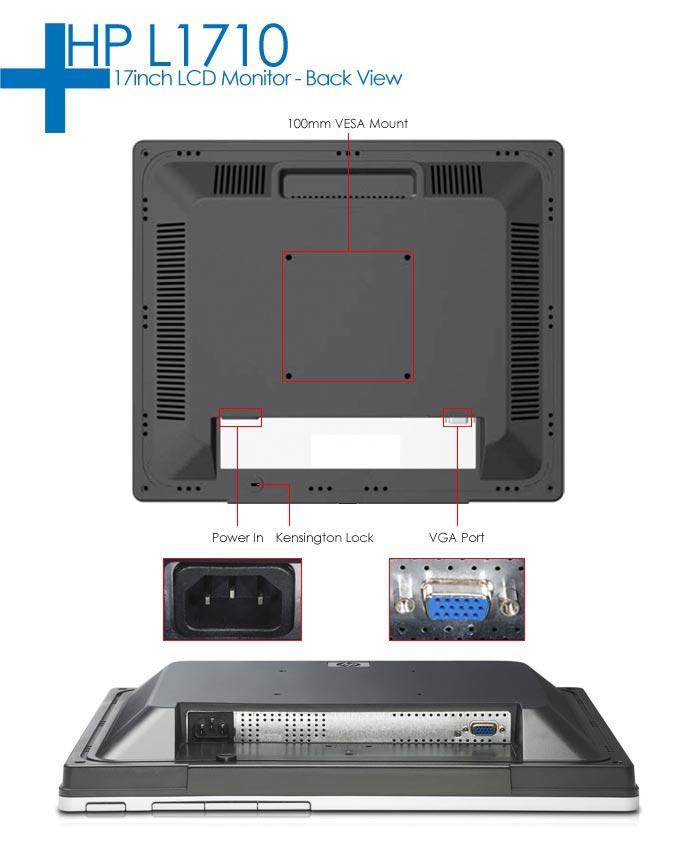 HP L1710 LCD Monitor