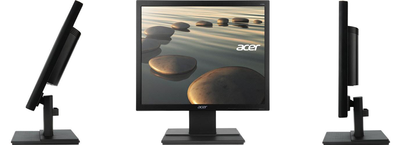 Acer V196L - LED monitor