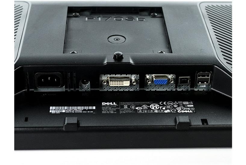 Dell P170S Ports